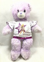 Build a Bear iCarly Hannah Montana Bear Sequence Concert Shirt Plush Teddy '09 - $29.99