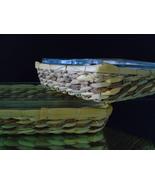 Bake and Serve Anchor Hocking Clear Glass Cookware Basket Buffet 3Qt & 2Qt - $25.00