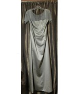 NWT Womens Formal Silver Dress, Size 10 - $50.00