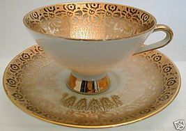 Beautiful 1930s WINTERLING Gold Rush BONE CHINA... - $56.99