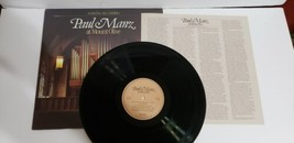 Paul Manz at Mount Olive Vinyl Record - $9.49