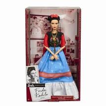 Frida Kahlo Mattel Barbie Doll Inspiring Women Series Mexican Artist Khalo NEW - $123.86