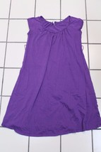 B684 Womens OLD NAVY MATERNITY Grape Purple A LINE DRESS Cap Sleeve XS C... - $12.60