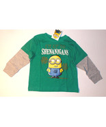 Despicable Me Minions Infant Boys Long Sleeve T-Shirt Shenanigans Size 1... - $8.82