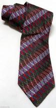 MISSONI Cravatte 100% SILK Tie Mens Necktie Col... - $15.00