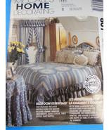 McCalls 807 Curtains, table cover cloth, dust ruffle, pillow, shams, com... - $4.20