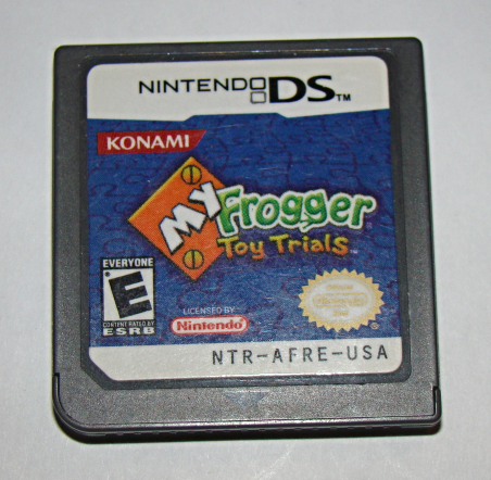 Nintendo DS - KONAMI - MY Frogger Toy Trials (Game Only)