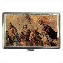 Genghis Khan Cigarette Money Case - $12.56