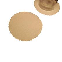 """50 Plain white soft velvet like coasters 3.5"""" diameter - $6.44"""