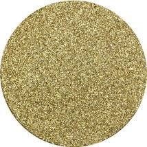 """Creative Converting 8 Count Coasters with Glitter, Gold 4"""" diameter - $6.92"""