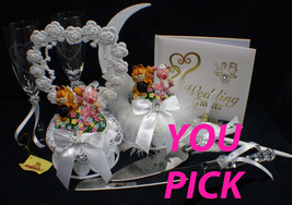 Garfield & Arlene Cat Theme Wedding Cake Topper ONLY cat lover Top - $39.89
