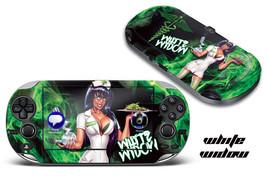 Skin Decal Wrap Sticker Mod For Sony Play Station Ps Vita System   White Widow - $6.89