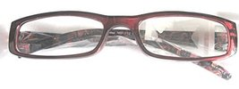 Foster Grant Simply Specs Flower Red Reading Glasses +1.50 - $14.99