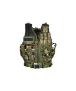 UTG Law Enforcement Tactical Vest Woodland Digital    # PVC-V547ET New! - $79.97