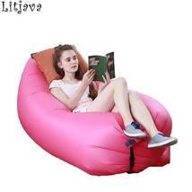 Accept Dropshipping Inflatable Bean Bag Chair for Kids Adult Lazy Air Sl... - $32.30