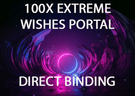 DIRECT 100X SCHOLARS EXTREME PORTAL OF EXTREME WISHES MAGICK RING PENDANT - $233.77