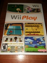 Wii PLAY NINTENDO (9 GAMES ON 1 DISC) Wii GAME COMPLETE with MANUAL ~TES... - $7.43