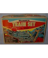 Old Vintage Marx Toy Mechanical Train Set 528 ca 1970 - $49.00