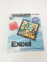 Microsoft Excel Designed for Windows 95 3.5 Floppy Disk 62321 - $16.82