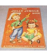 The Jolly Jingle Junior Elf Book Rand McNally 1951 Clare McKinley - $5.95