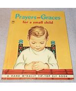 Prayers and Graces for a Small Child Rand McNally Tip Top Elf Book 1960 - $5.95