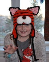 Children's crochet tiger hat by Bliss - $22.00