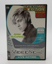 VideoNow PVD Video Disc Backstage with Jesse McCartney Special Edition Poster - $19.68