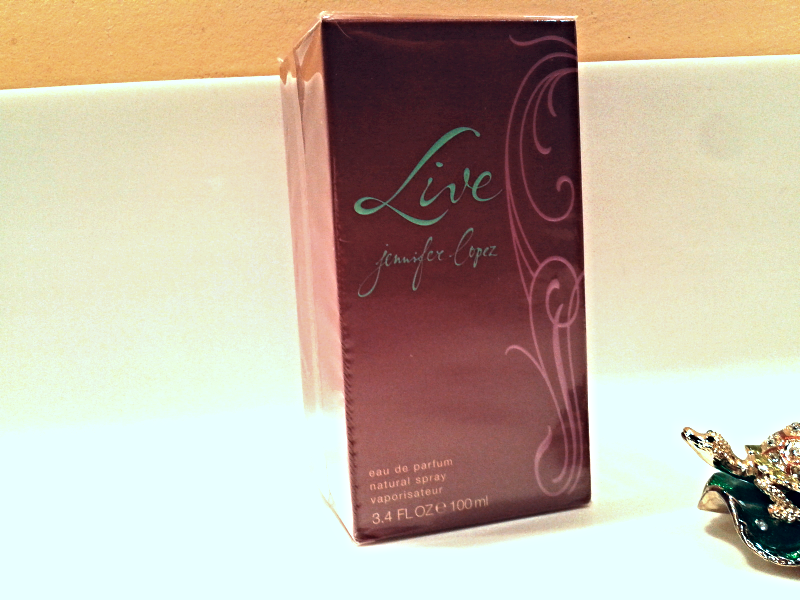 3d7576a42a3ddf AuthenticJennifer Lopez Live EDP Natural Spray 100ml For Women