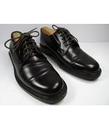 J. Crew Mens Dark Brown Leather Plain Toe Oxfords Size US 8.5 - $38.22