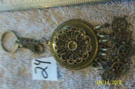# purse jewlrey bronze color keychain backpack filigree dangle charms #24 image 4