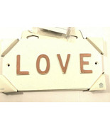 LOVE Wall Art Aluminum Wall Sign Home Decor  Hearth & Hand With Magnolia... - $14.84