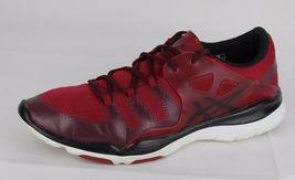 Asics Gel Passform Vida Damen Schuhe Rot Laufen Training Sneakers Schnürsenkel image 5