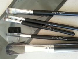 M.A.C. 5-Piece Travel Cosmetic Brushes MAC Makeup Brush Set  - $40.00