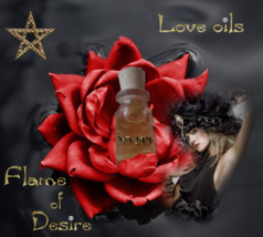 No 119 Flame of Desire oil. Ancient magic, pagan, wiccan, healthy relationships - $19.99