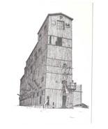 Coal Mining Wilkes Barre Frederick W Bartlett Drawing 1971 A/S Postcard - $6.69