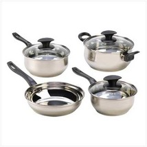 Stainless Steel Cookware Set - $33.64