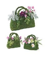 3 Flower Planter Baskets Sphagnum Moss - $17.60