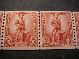 1943 War Savings Line Strip of 6 Stamps Catalog Number WS12 MNH image 2