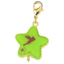 Disney Store Japan D-Tech Cute Star-Shaped Macaron Tinker Bell Charm Kawaii image 2