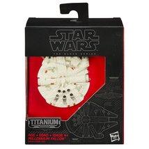 Star Wars Black Series Titianium - The Force Awakens Millennium Falcon - $15.99