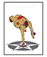 Wrestling10-Digital Clipart - $4.00