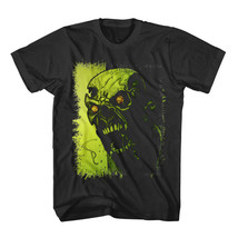 New Green Skull Angry T-shirt for Men Shirt Black Shirt Cotton Many Size - $25.99+