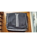 Skyway Garment Luggage Bag Canvas Black Gray 43 Inches - $27.71