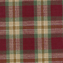 Longaberger Oval Kiddie Purse Liner ~ Orchard Park Plaid Fabric - $11.71