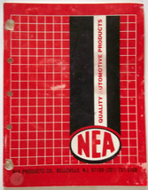 NEA Quality Automotive Products Catalog Valve Cover Gaskets Sheet Cork M... - $9.16