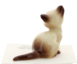 Hagen-Renaker Miniature Cat Figurine Siamese Mama Chocolate Point image 3