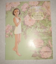 "Sabrina Booklet from the ""Girls of Rosebrooke School"" Paper Doll Book AD... - $4.99"