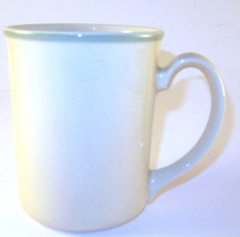 Corning Ware NY Microwave Safe White with Light Green Rim Coffee Mug Cup Glass - $8.90