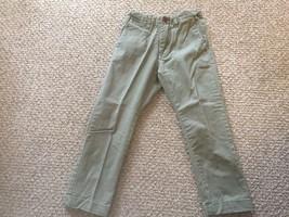 Zara Khaki Boy's Long Pants CN 104 Size 3-4 - $5.45