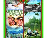 Christmas Miracle At Sage Creek / Country Remedy (Double Feature) [DVD] [2011]